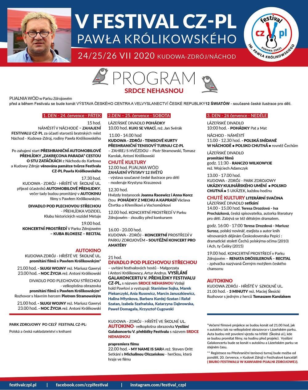 program_CZ V Festival CZPL